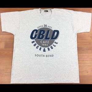 Vintage 1995 CBLD Cafe Rock & Rule South Bend